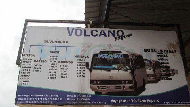 Kigali – Bujumbura : ingorane z'ingenzi