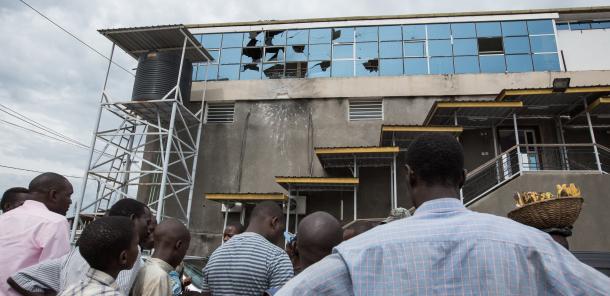 Bujumbura vit malgré tout
