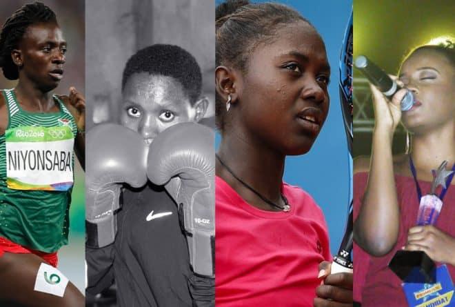 Quatre jeunes burundaises qui nous inspirent