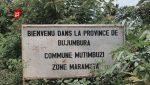 Province Bujumbura - Mutimbuzi - pancarte