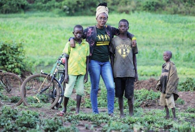 Chancelle Bamuhaye : le « webactivisme » au service des enfants