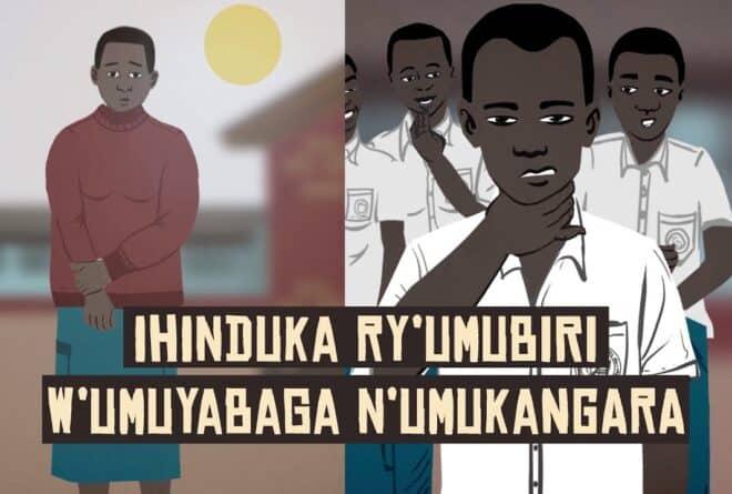 Ihinduka ry'umubiri w'umuyabaga n'umukangara : ko ibibazo ari vyinshi inyishu zoba izihe ?